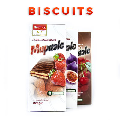 Bulgarian Food Products Categories Biscuits