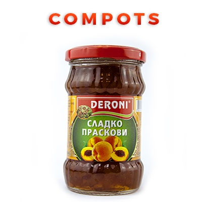 Bulgarian Food Products Categories Compots