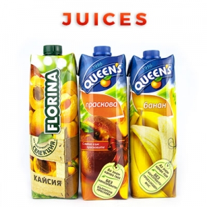 Bulgarian Food Products Categories Juices
