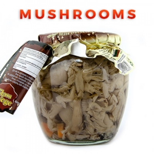 Bulgarian Food Products Categories Mushrooms