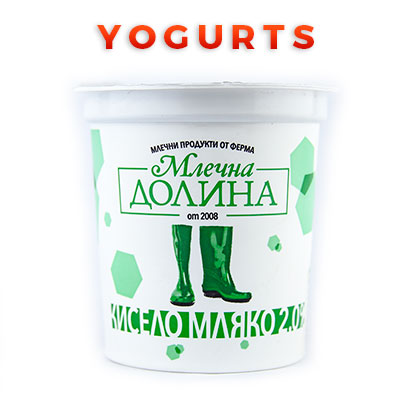 Bulgarian Food Products Categories Yogurts